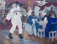russian tavern by nikolai vladimirovich remizov