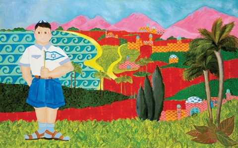 a zionist in the landscape by eliahou eric bokobza