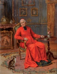 le prélat et le chat by cristofor alandi
