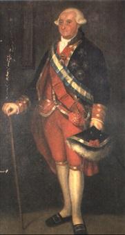 retrato de carlos iv by josé maria rodríguez de losada