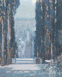 the villa d'este, tivoli by george wharton edwards