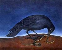 cuervo y serpiente by martin rigo