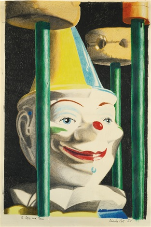 rolly polly clown by charles s bell