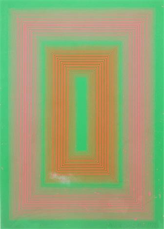 op art composition by richard anuszkiewicz