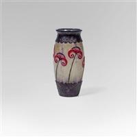 vase papyrus by gabriel argy-rousseau
