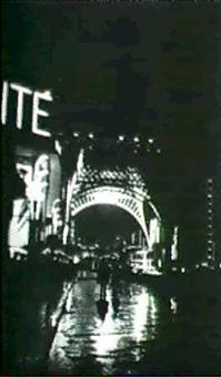paris, street scene                     (1930s) by hilde hubbuch