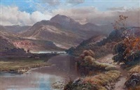 coniston lake by clarence henry roe
