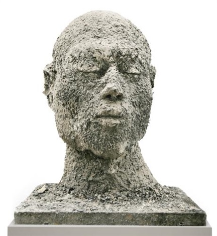 ash head no12 medium by zhang huan