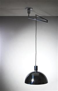 lampade a sospensione della serie am/as (due) by franca helg, antonio piva and franco albini