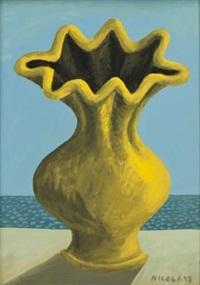 gold vase by nicolaas maritz