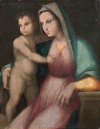 madonna col bambino by andrea di alessandri