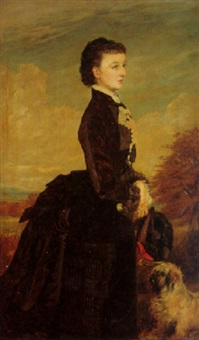 portrait of a lady by james archer