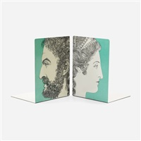 bookends by piero fornasetti