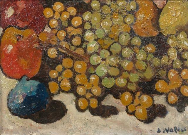 nature morte aux raisins by louis valtat