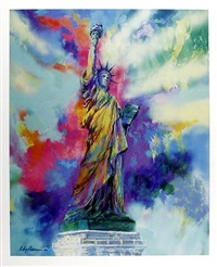 statue of liberty by leroy neiman