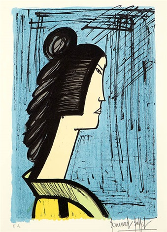 geisha by bernard buffet