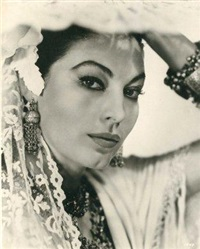 ava gardner dans le film bhowani junction by george hoyningen-huene