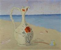 brocca sulla spiaggia by guido peyron