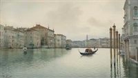 canal grande und rialto, abends by anonymous-italian (19)