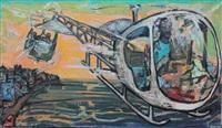 les hélicoptères sur forio d'ischia by yvette alde