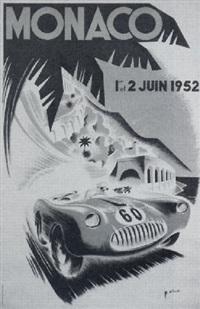 monaco by posters: auto - monaco grand prix