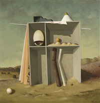 surrealistische komposition by leopold peer