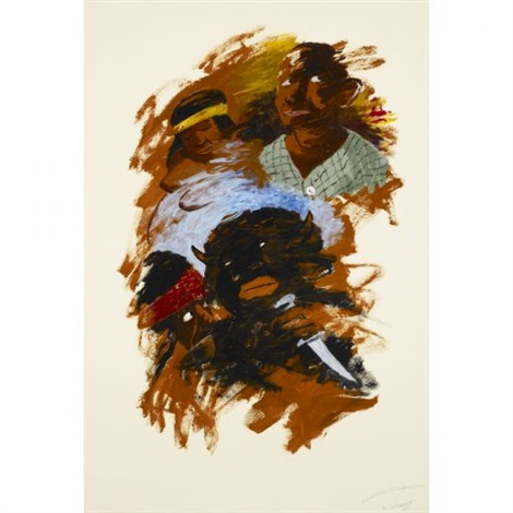 he was called the buffalos brother by robert h colescott
