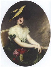 portrait of a young lady by jenny maria fontaine