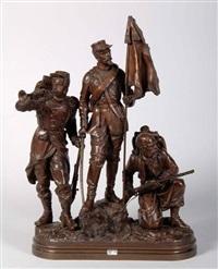 régiment d'infanterie by charles anfrie