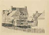 cottages by robert polhill bevan