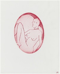 the cross-eyed woman iv by louise bourgeois