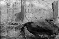 carnarvon castle, wales by elizabeth wentworth roberts