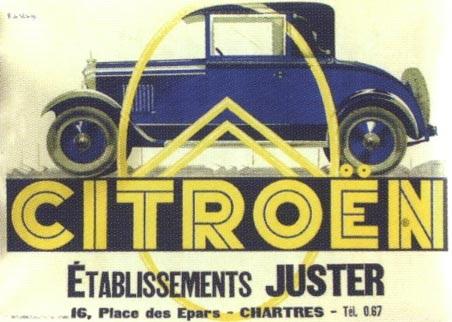 citroën poster by roger de valerio