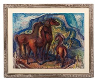 taos horses by lloyd moylan