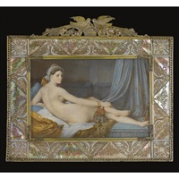 an odalisque (after ingres) by george gaste gastauls