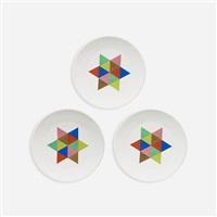 carolus magnus plates (set of 3) by alexander hayden girard