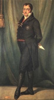 retrato de fernando vii by josé maria rodríguez de losada