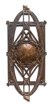 baluster from the chicago stock exchange by louis henri sullivan