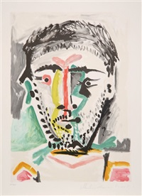 portrait d'homme by pablo picasso