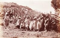 maroc. a group of moorish boys. enfants de tanger by james valentine
