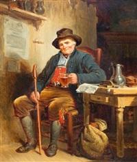 een welverdiend glas by moritz calisch