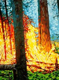 l'incendie de forêt by olivier auguste