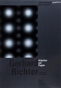 poster for arbeiten auf papier by gerhard richter