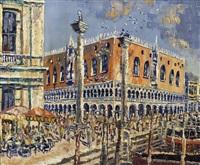 venedig - dogenpalast by carlo battisti