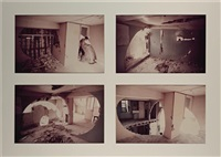 conical intersect (4 works) by gordon matta-clark