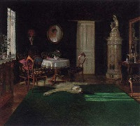 an interior by elisabeth weber-fülöp