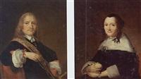 a portrait of admiral jan van galen holding a staff by johannes cornelisz verspronck