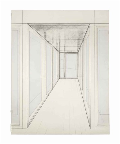 corridor store front (project) by christo and jeanne-claude
