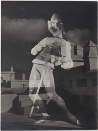 s. lifar dans les ballets icare et oriane et le prince d'amour (10 works, various sizes) by pierre boucher
