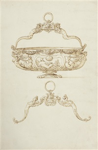 design for a basin with swing handles by jacopo strada